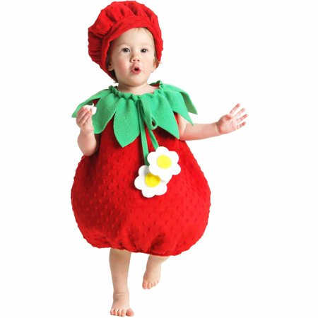 Strawberry Infant Halloween Costume - Strawberry Halloween Costume
