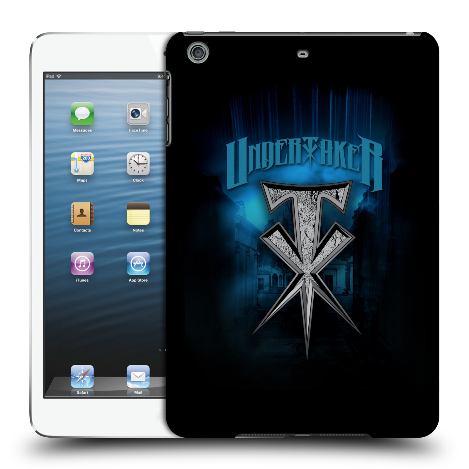 OFFICIAL WWE THE UNDERTAKER HARD BACK CASE FOR APPLE IPAD