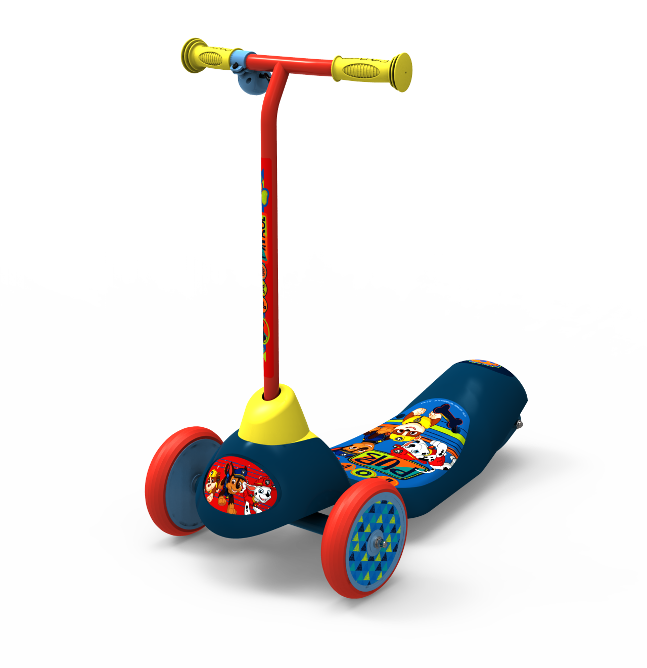 Playwheels Safe Start Paw Patrol Electric 3 Wheel Scooter by Bravo Sports