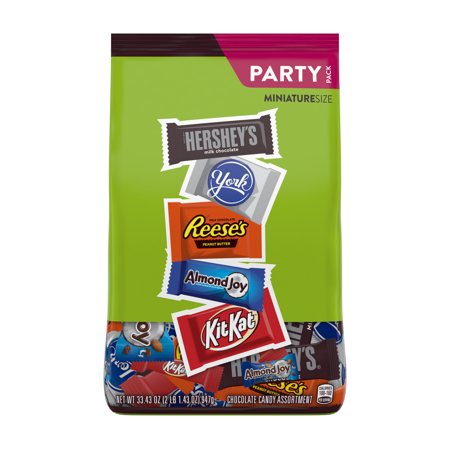 Hershey's, Reese's, Almond Joy, Kit Kat, York Assortment Bag - 33.43oz