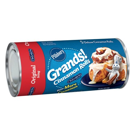 Pillsbury Grands! Cinnamon Rolls with Icing - 17.5oz/5ct