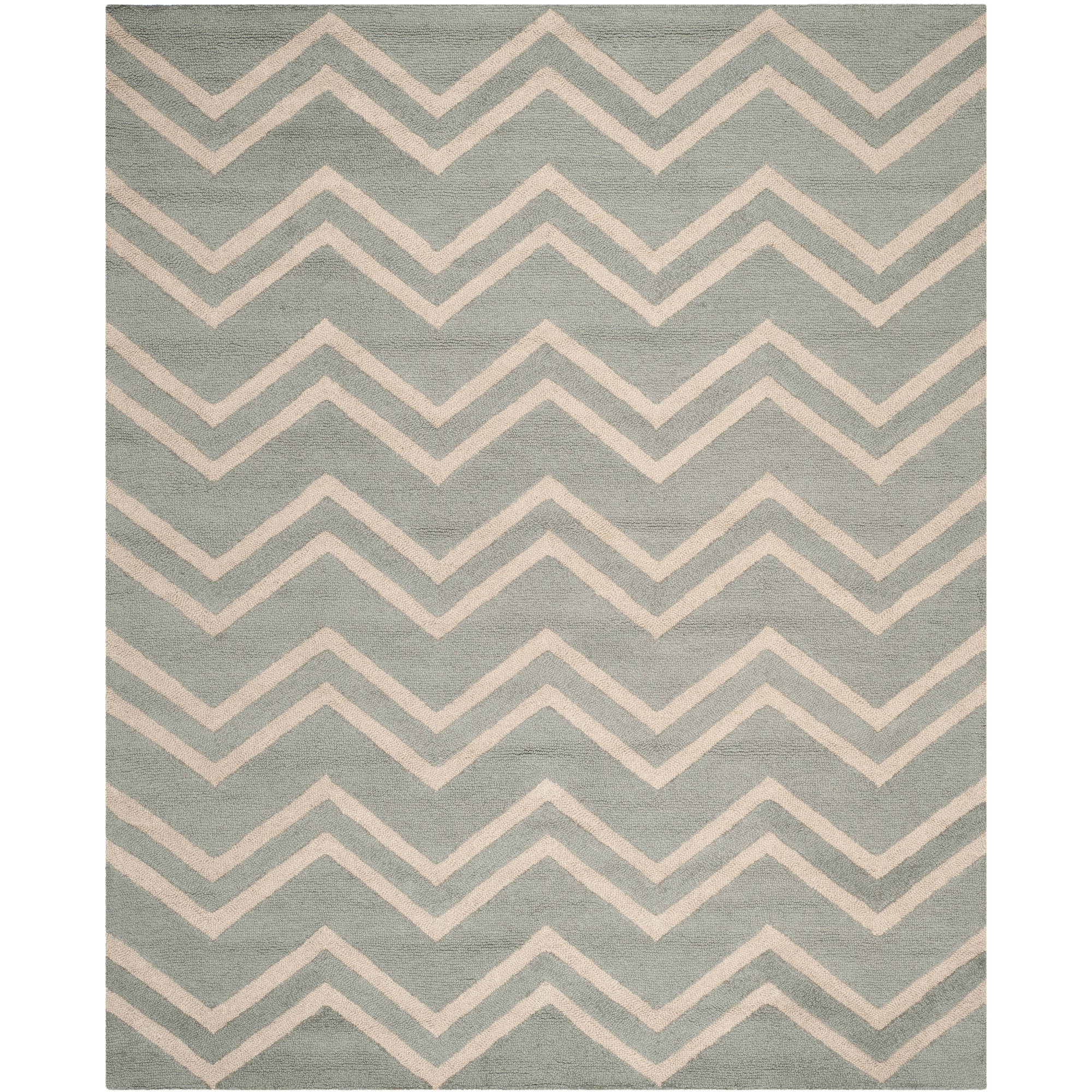 Safavieh Cambridge Joanna Hand-Tufted Wool Area Rug, Grey/Beige
