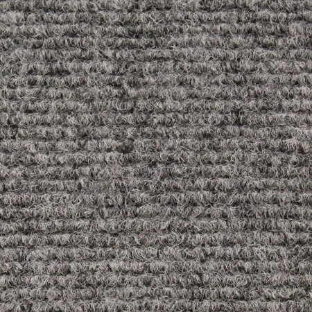 Indoor/Outdoor Carpet with Rubber Marine Backing - Gray 6' x 10' - Several Sizes Available - Carpet Flooring for Patio, Porch, Deck, Boat, Basement or Garage ()