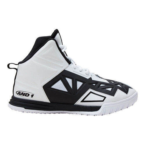 AND1 Boys Select Low Basketball White Shoe