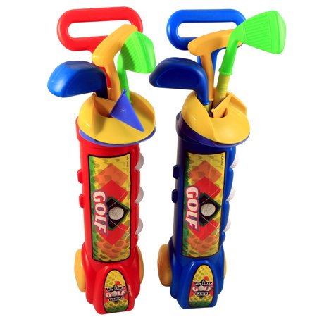 Kids Outdoor Golf Club Toddler Activity Pretend Play Set - 2 Pack