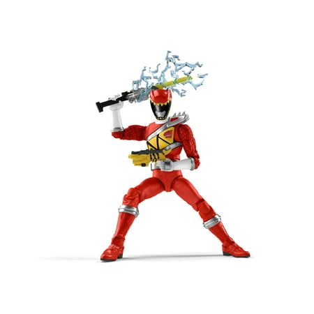 Power Rangers Lightning Collection 6-Inch Dino Charge Red Ranger Collectible Action Figure ()