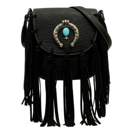 Shelby Body (Blazin Roxx Western Handbag Womens Shelby Crossbody Bag Black)