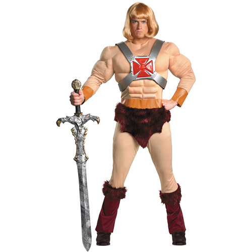 He Man Classic Muscle Adult Halloween Costume