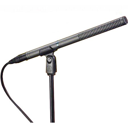 - Audio-Technica Line and Gradient Compact Shotgun Condenser Microphone AT897