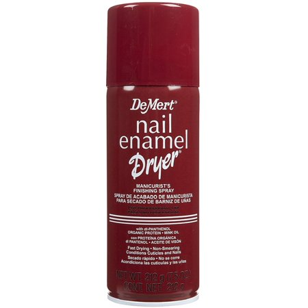 DeMert Nail Enamel Dry Spray 7.50 oz Dry Nail Colour