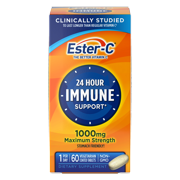 Ester-C The Better Vitamin C: Vitamin C 1000 mg Vitamin Supplement, 60 count