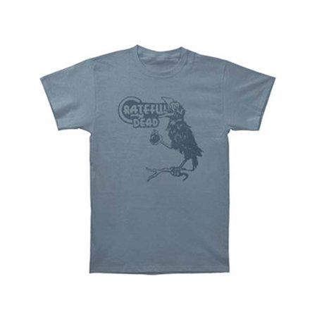 Grateful Dead Athletic T-shirt (Grateful Dead Men's  Birdsong T-shirt Blue )