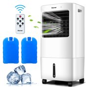 Costway Evaporative Portable Air Cooler Fan & Humidifier w/ Remote Control 7.5 Timer