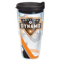 Houston Dynamo Tervis 24oz. Tumbler with Lid - Clear