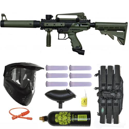 Tippmann Cronus Tactical Paintball Gun 3Skull Mega Set by