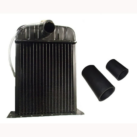 (1) New Aftermarket Replacement Radiator with Hose Kit Case-IH  Cub Cub Lo
