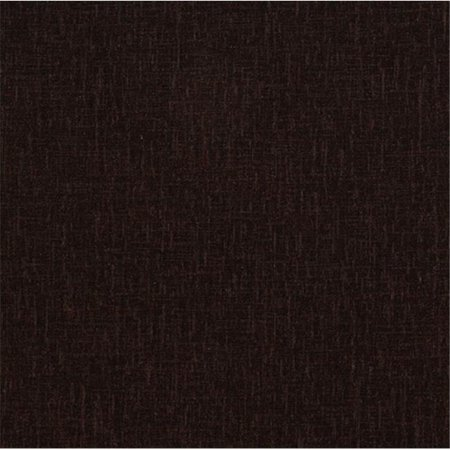 Designer Fabrics D054 54 in. Wide Dark Brown Soft Polyester Chenille Velvet Upholstery (Soft As Velvet)
