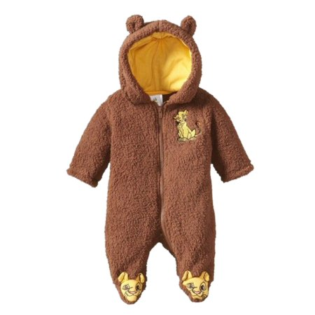 e78f8bb738e9 Disney - Disney Baby Infant Boys Lion King Simba Sherpa Pram Baby ...