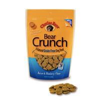 Charlee Bear Bear Crunch Grain-Free Bacon & Blueberry Dog Treats, 8 Oz