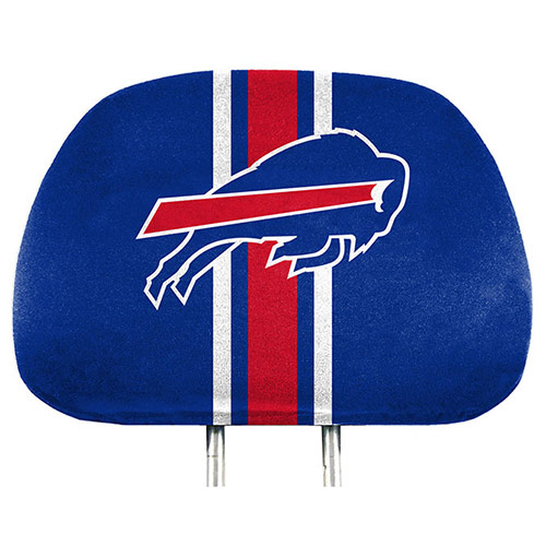Buffalo Bills Two-Pack Printed Headrest Cover - No Size