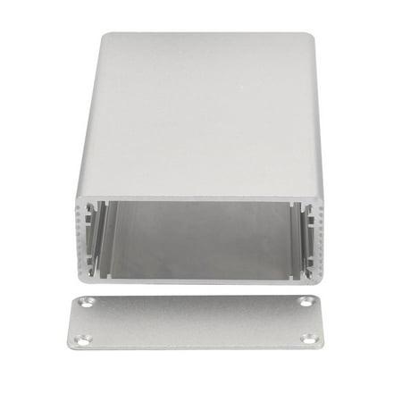 Silver Tone 110x66x27mm Heatsink Radiator Aluminum Electronic Box Enclosure Case - image 2 of 4