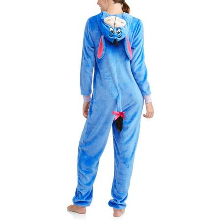 Disney Eeyore Women's and Women's Plus Union Suit](Eeyore Pajama Costume)