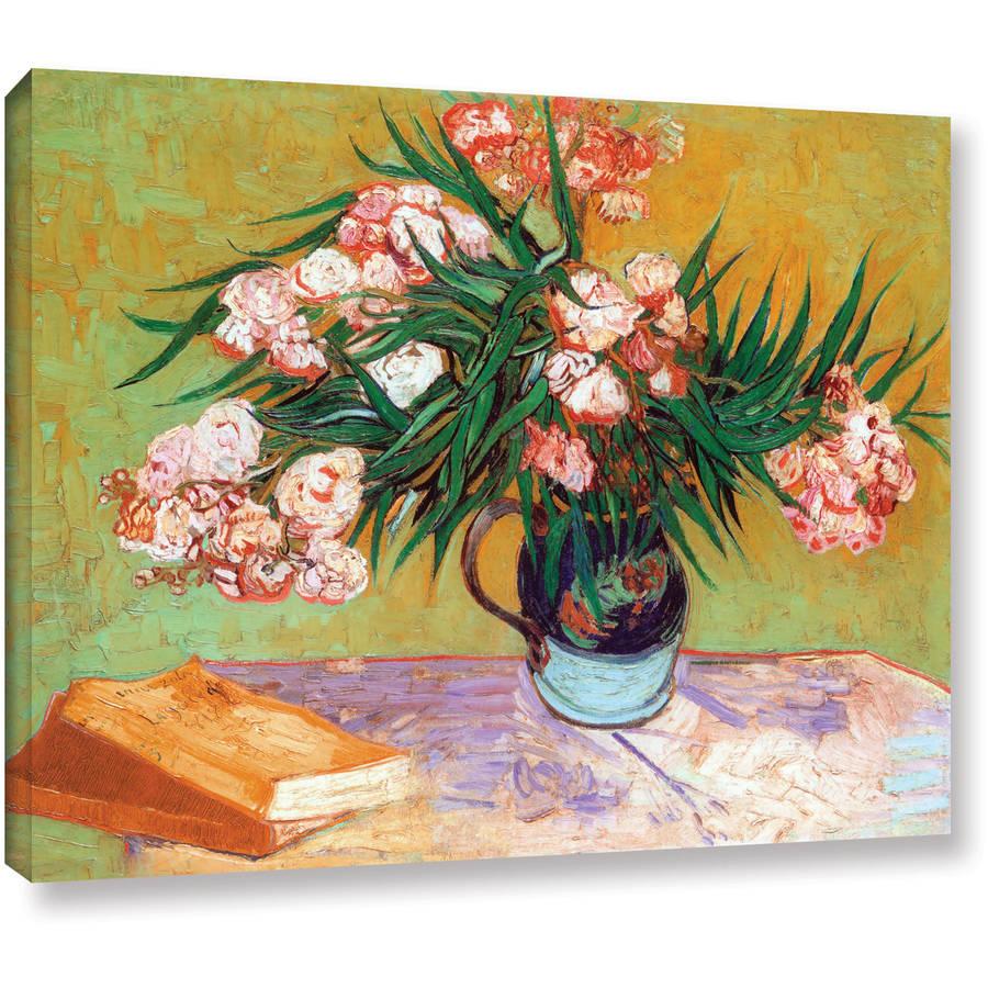 "Vincent Van Gogh ""Oleander"" Wrapped Canvas Art"