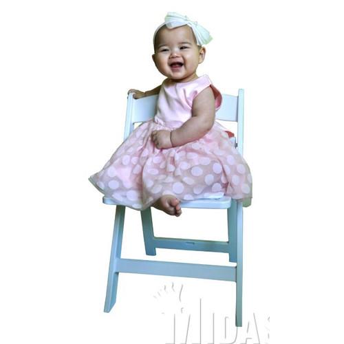 Midas Event Supply Revolution Children's Plastic Folding Chair
