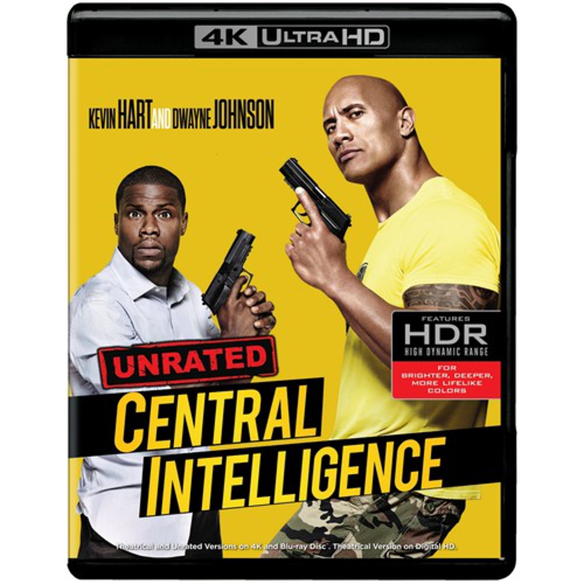 Central Intelligence 4k Ultra Hd Blu Ray Walmart Canada