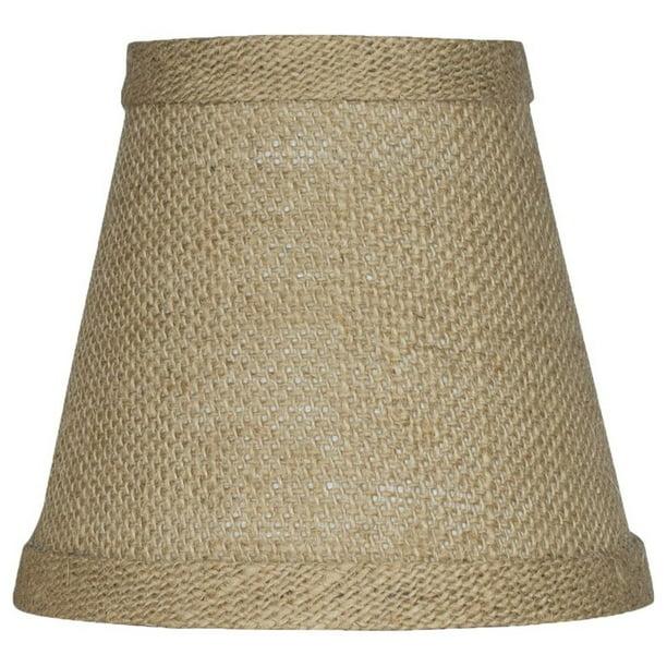 Urbanest Hardback Burlap Chandelier, Chandelier Lamp Shades Drum Shape