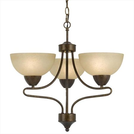Cal Lighting FX-3529-3 60 W X 3 Romano 3 Light Chandelier - image 1 of 1