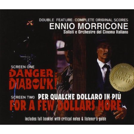 Danger Diabolik & For A Few Dollars More Soundtrack (CD) ()