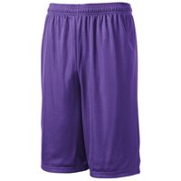 Sport-Tek Extra Long Dri-Fit Mesh Short Polyester Basketball