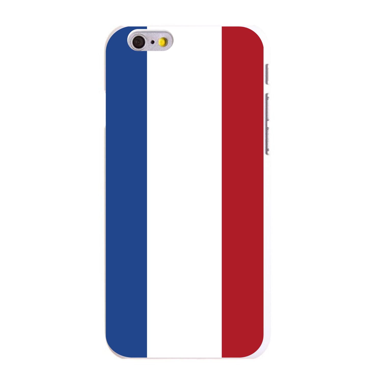 """CUSTOM White Hard Plastic Snap-On Case for Apple iPhone 6   6S (4.7""""..."""
