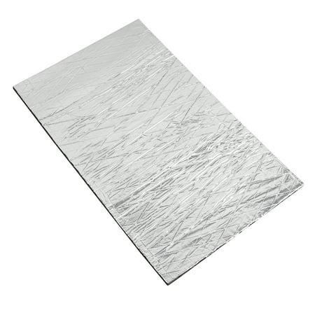 1.6sqft Sound Deadener Heat Insulation Mat Hood Floor Door 50 x 30 x 1cm for