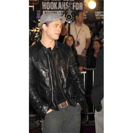 Brad Pitt At Arrivals For Los Angeles Premiere Of Beowulf Westwood Village Theater Los Angeles Ca November 05 2007 Photo By Michael GermanaEverett Collection Celebrity
