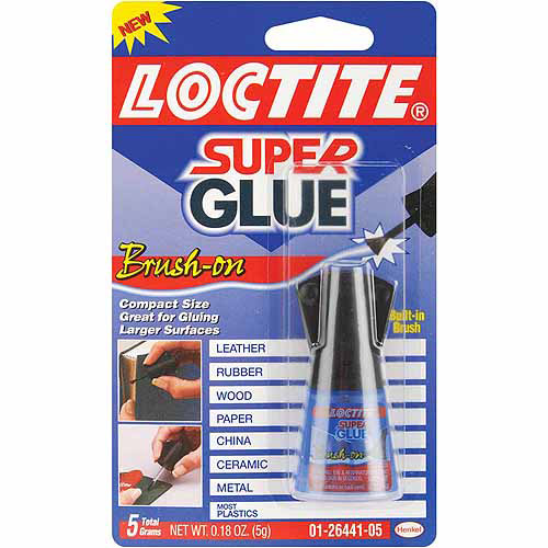 Henkel Super Glue Brush-On, .18 oz