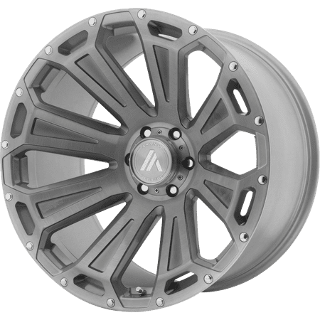Asanti Off Road AB813 22x10 6x135.00 TITANIUM-BRUSHED (-12 mm)