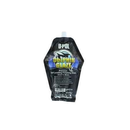 U-Pol 0714 DOLPHIN Glaze Brushable Finishing Putty 440ml Filler Bag (Upol 714)