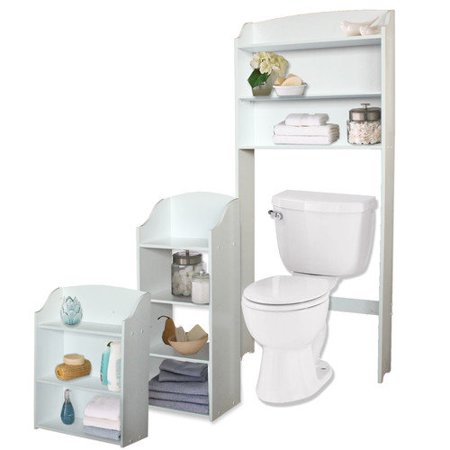 Jenlea 3 Piece Bathroom Storage Set