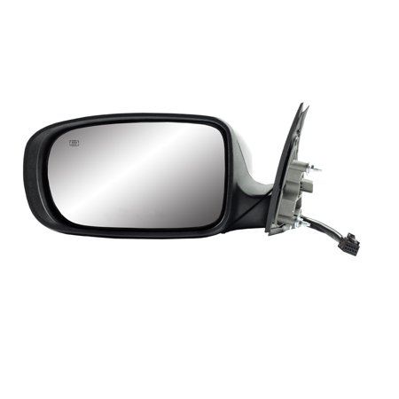 60632C - Fit System Driver Side Mirror for 11-14 Dodge Charger, code GUK/ XR, textured black w/ PTM cover, foldaway, w/o memory, Heated Power