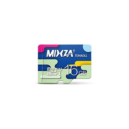 Performance Grade 16GB Alcatel OneTouch 997 MicroSDHC Card by MIXZA is Pro-Speed, Heat & Cold Resistant, and built for Lifetime of Constant Use! (Heat Resistant Softbox)