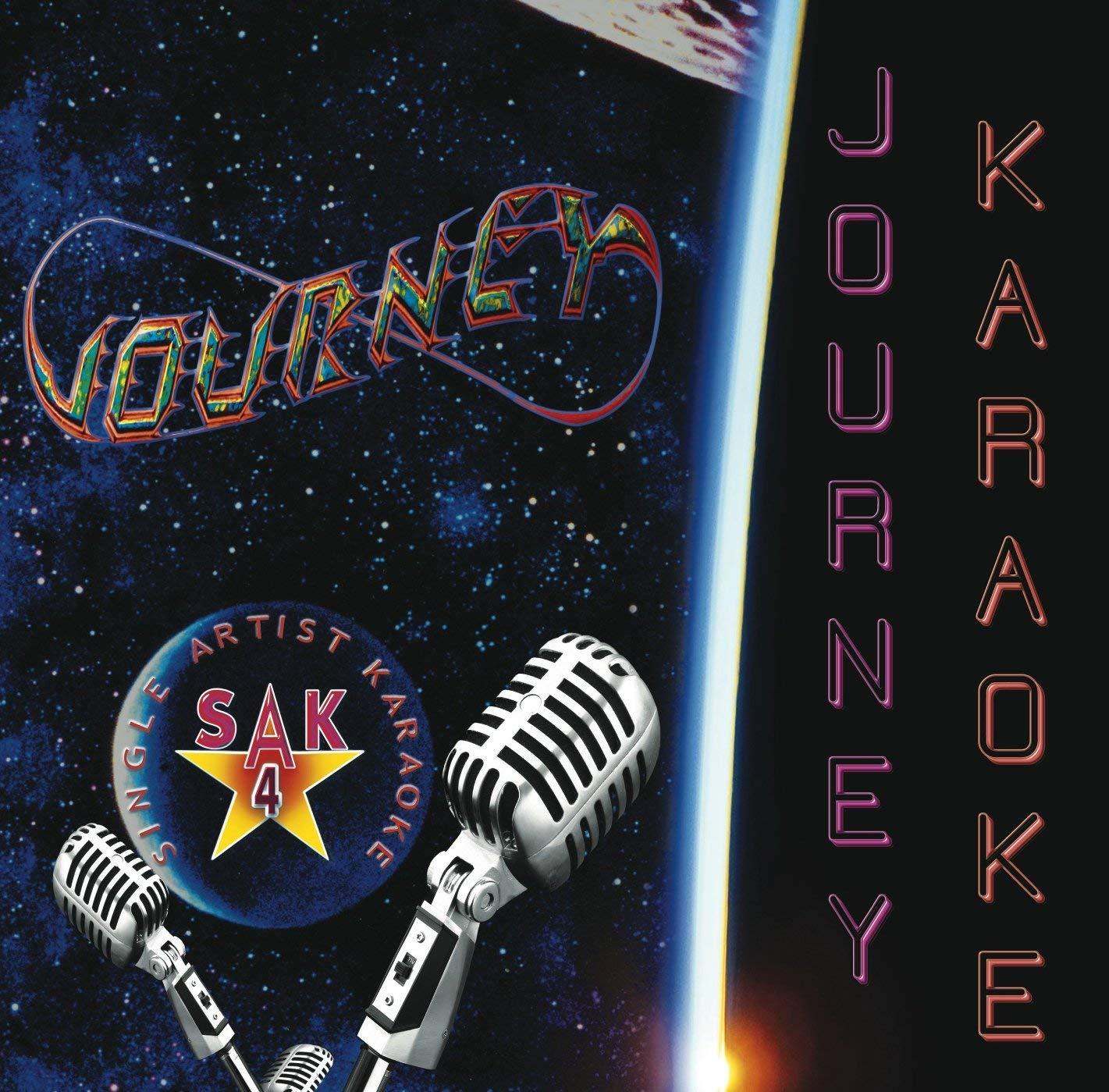 JOURNEY KARAOKE GREATEST HITS - DON'T STOP BELIEVIN'