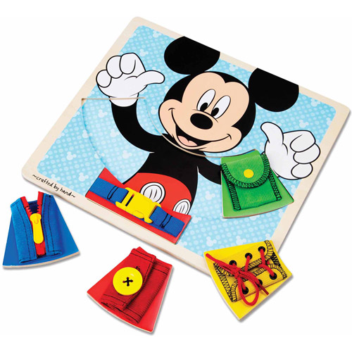 Disney Mickey Mouse Clubhouse Wooden Basic Skills Board