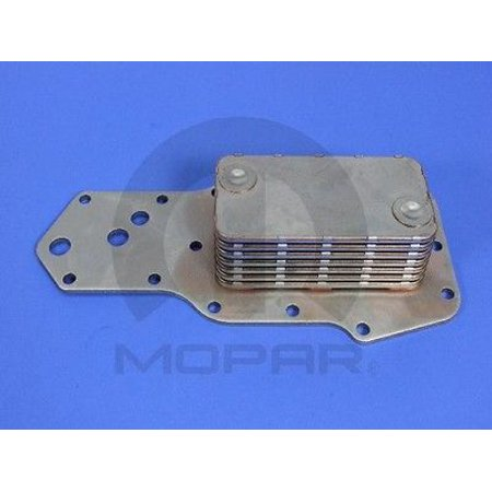 Engine Oil Cooler MOPAR 4713985AB fits 97-02 Dodge Ram 3500 5 9L-V8