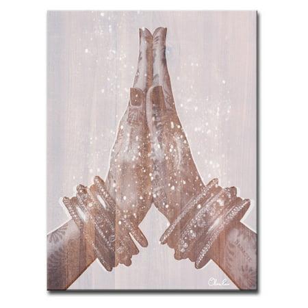 - Ready2HangArt Namaste Inspirational Canvas by Olivia Rose