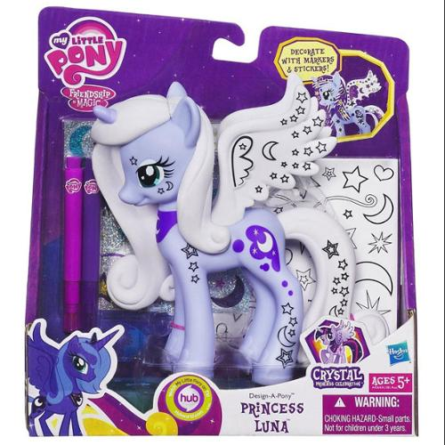 My Little Pony Design-A-Pony Princess Luna Figure