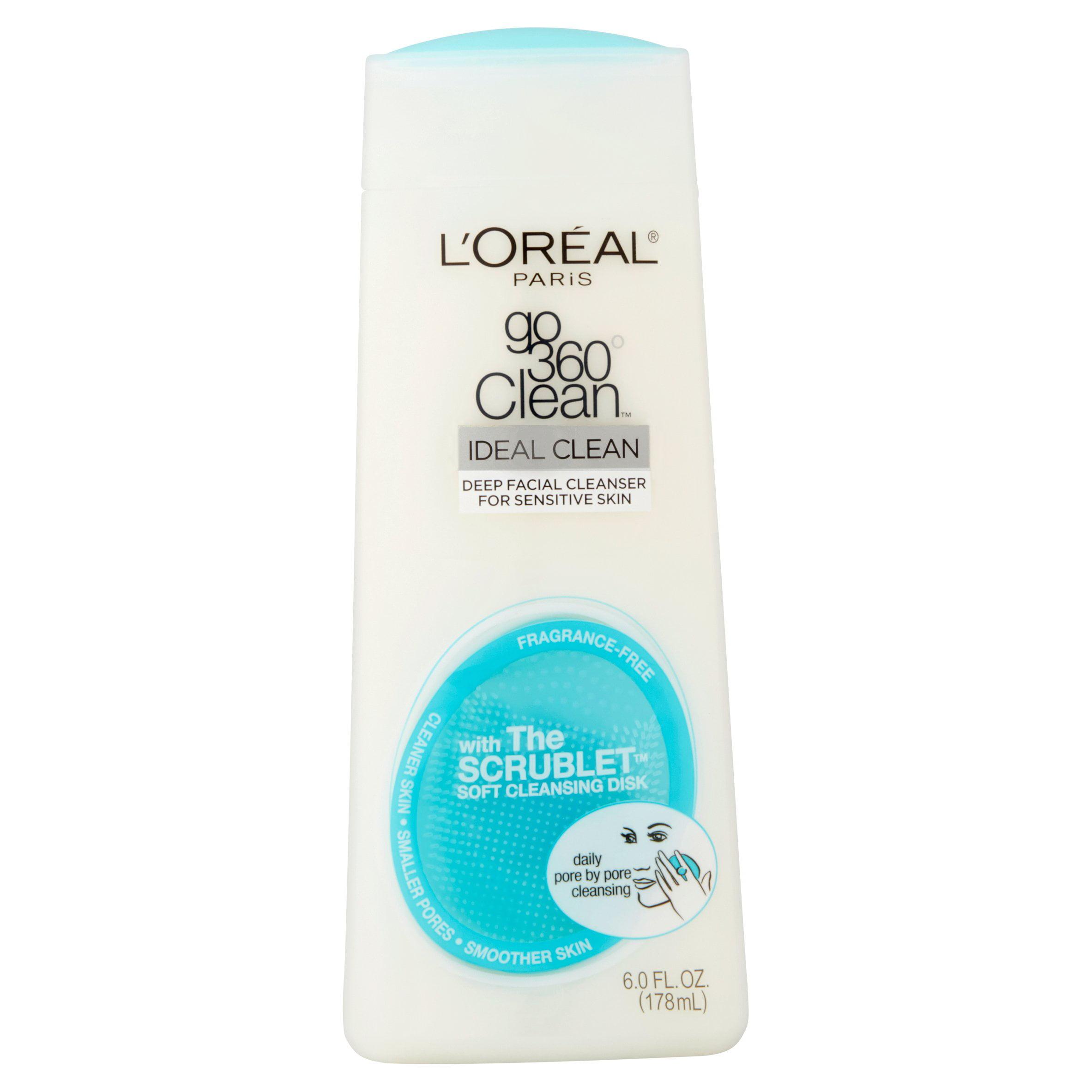 L'Or��al Paris Go 360�� Clean Ideal Clean Deep Facial Cleanser, 6.0 fl oz