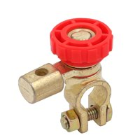 Unique Bargains Battery Terminal Link Switch Quick Cut-off Disconnect Red for Car Truck Auto