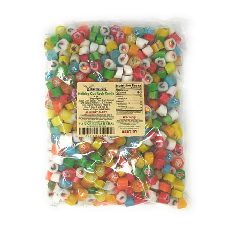 Rock Candy Favors (YANKEETRADERS ASSORTED FLAVOR CUT ROCK CANDY, 4)